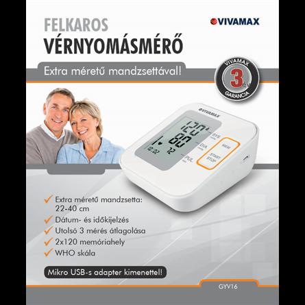 Felkaros vérnyomásmérő - Vivamax webáruház